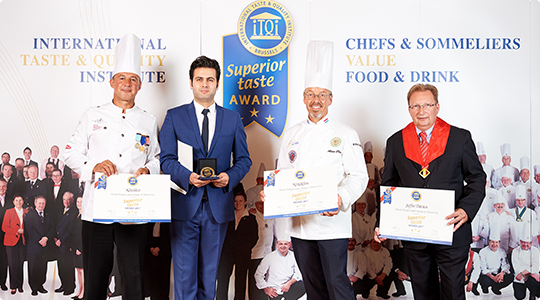 We are awarded with 3 Star Superior Taste Reward.